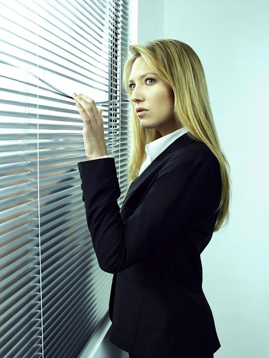 "Anna Torv returns as Agent Olivia Dunham in ""Fringe."""