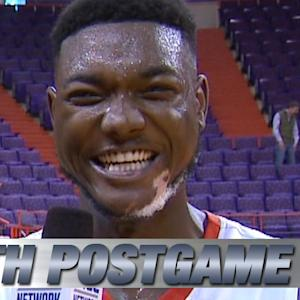 Clemson's Josh Smith Talks About Game-Winning Shot vs Wake Forest