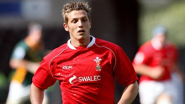 Jason Tovey playing for Wales in the 2008 Junior World Cup (PA)