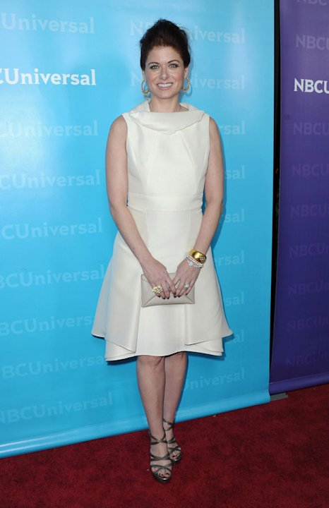 "Debra Messing (""Smash"") attends the 2012 NBC Universal Winter TCA All-Star Party at The Athenaeum on January 6, 2012 in Pasadena, California."