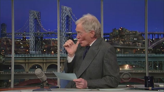 David Letterman - The Pope's …