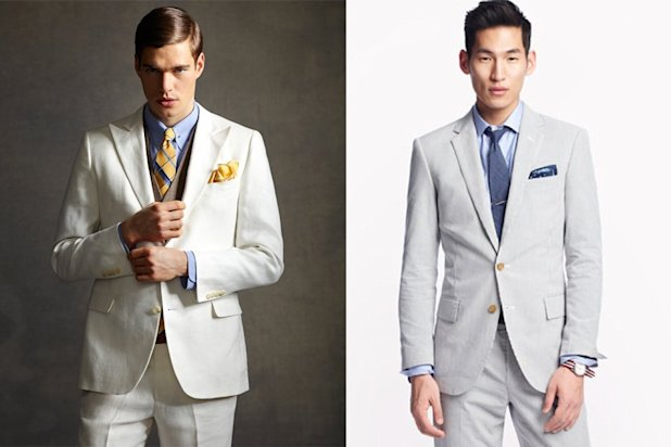 linen and searsucker suits derby style