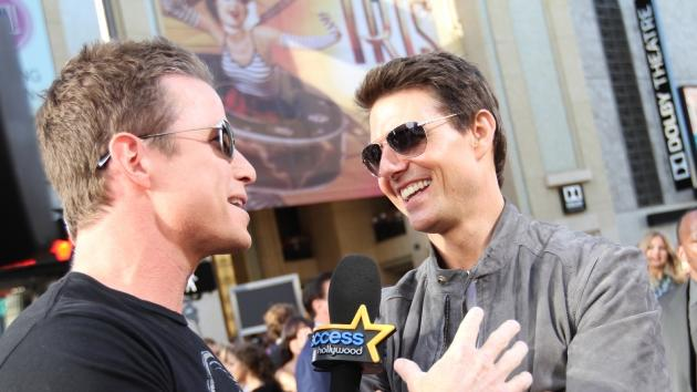 Access Hollywood's Billy Bush interviews Tom Cruise at the 'Rock of Ages' premiere in Los Angeles, June 8, 2012 -- Access Hollywood