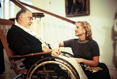 Howard Hesseman and Jessica Capshaw in Seventh Art's The Mesmerist