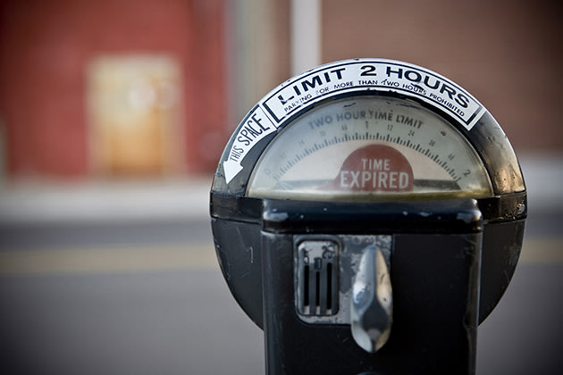 File photo of expired parking meter (Thinkstock)