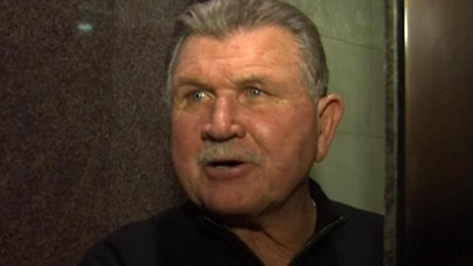 Mike Ditka back on Monday Night Countdown day after hospital release