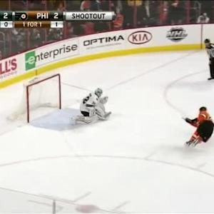 Alex Stalock Save on Claude Giroux (00:00/SO)