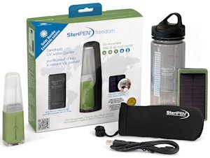 SteriPen Freedom Solar Bundle Portable Water Purifier