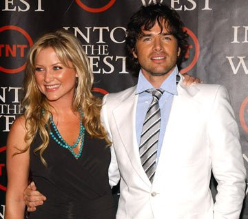"Jessica Capshaw and Matthew Settle ""Into the West"" Los Angeles Premiere - 6/8/2005"