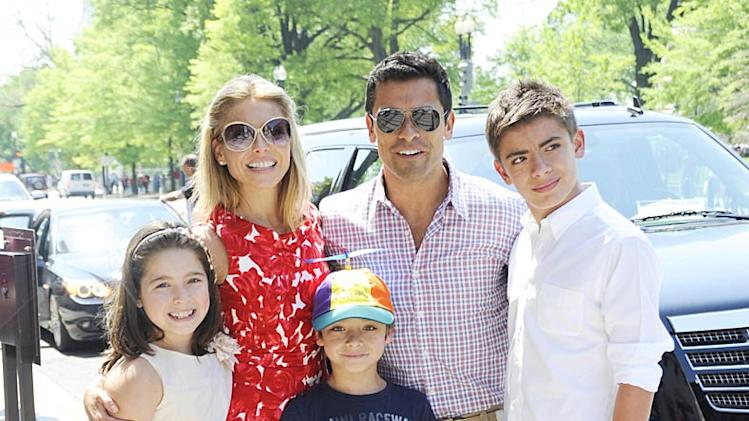 Ripa Consuelos Easter Egg Roll