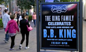 A sign outside Brooklyn Bowl Las Vegas at The LINQ…