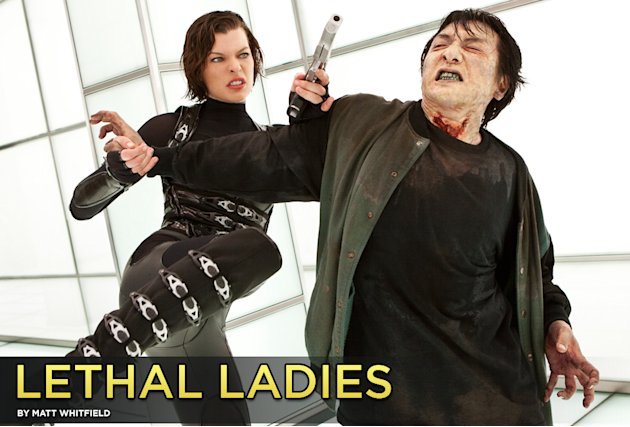 Lethal Ladies Title Card