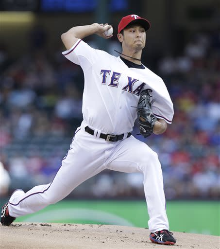 Darvish back for Rangers in 3-0 win over Yankees