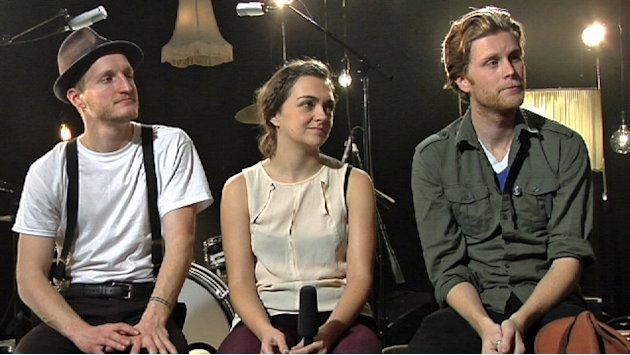 The Lumineers on taking center …