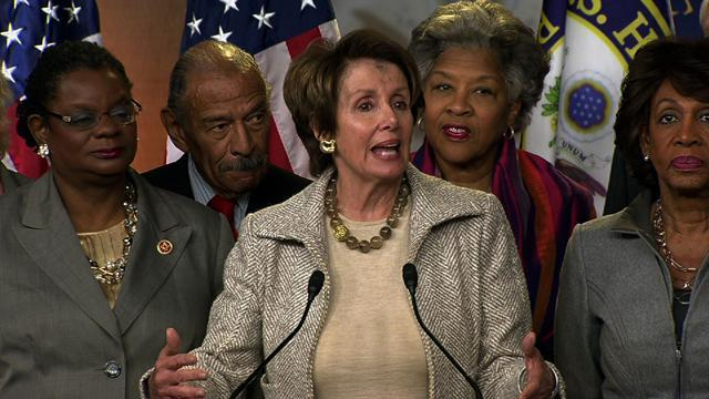 "Pelosi: ""Delay is not an option"" on Violence Against Women Act"