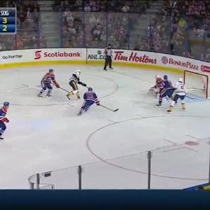 Ben Scrivens Save on James Neal (04:04/1st)