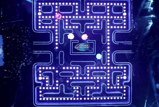 Go Behind The Scenes Of The Crazy Pac-Man Super Bowl Ad