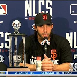 NLCS MVP Madison Bumgarner On Heading To World Series