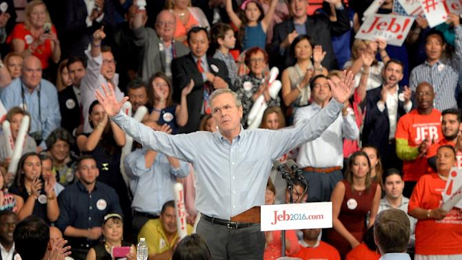 The Jeb Bush campaign has shown puzzling lack of traction, reinforcing American voter skepticism about Jeb following his father's and brother's footsteps into the White House
