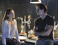 "This image released by The CW shows Kristin Kreuk as Catherine Chandler, left, and Jay Ryan as Vincent in a scene from the pilot episode of ""Beauty and the Beast,"" premiering Oct. 11, 2012 at 9p.m. EST on the CW. (AP Photo/The CW, Ben Mark Holzberg)"