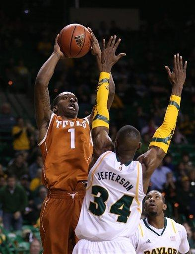 Baylor wins Big 12 opener 86-79 in OT over Texas