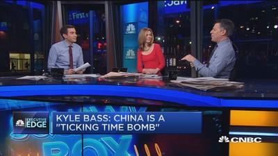 Bass: China bank crisis 5X worse than subprime