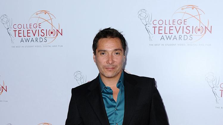 Benito Martinez arrives at the 34th College Television Awards presented by the Academy of Television Arts & Sciences Foundation at the JW Marriott Los Angeles L.A. Live on April 25, 2013 in Los Angeles, California. (Photo by Scott Kirkland/Invision for the Academy of Television Arts & Sciences/AP Images)