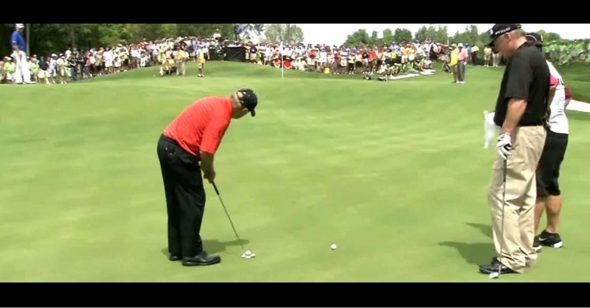 Possibly The Best Putt Ever (Wait for it...)