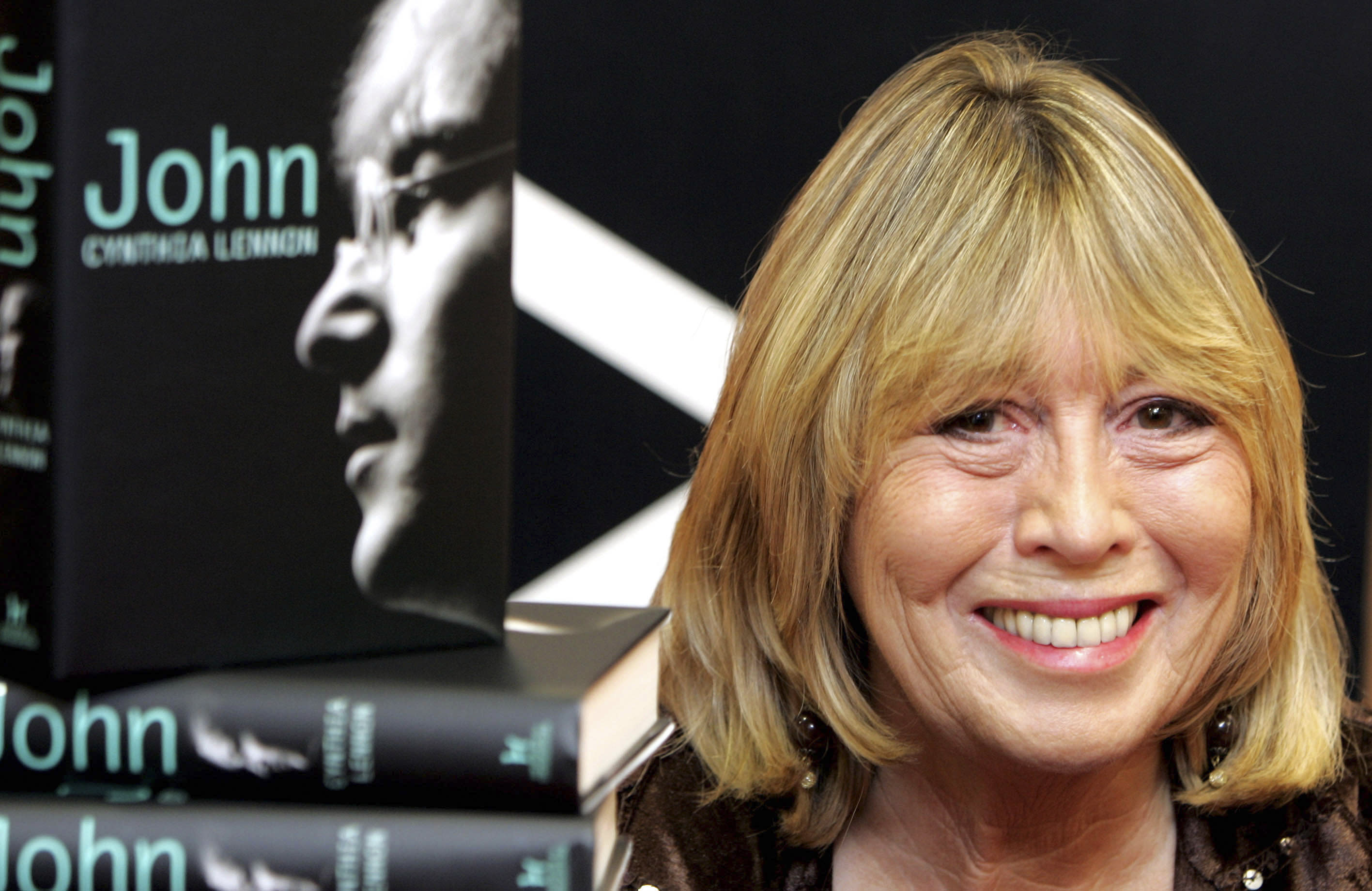 Cynthia Lennon, first wife of John Lennon, dies of cancer