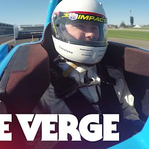 The terrifying fun of going 180MPH in an IndyCar