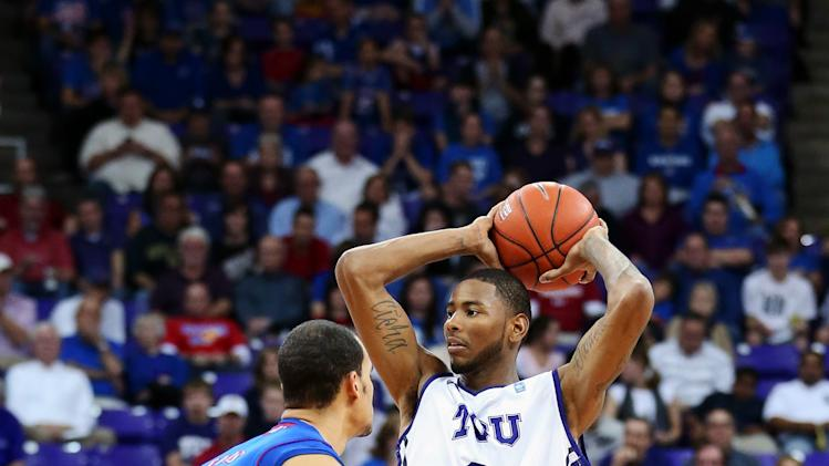NCAA Basketball: Kansas at TCU