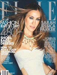 Sarah Jessica Parker on the cover of ELLE magazine&#39;s November 2012 issue -- ELLE Magazine