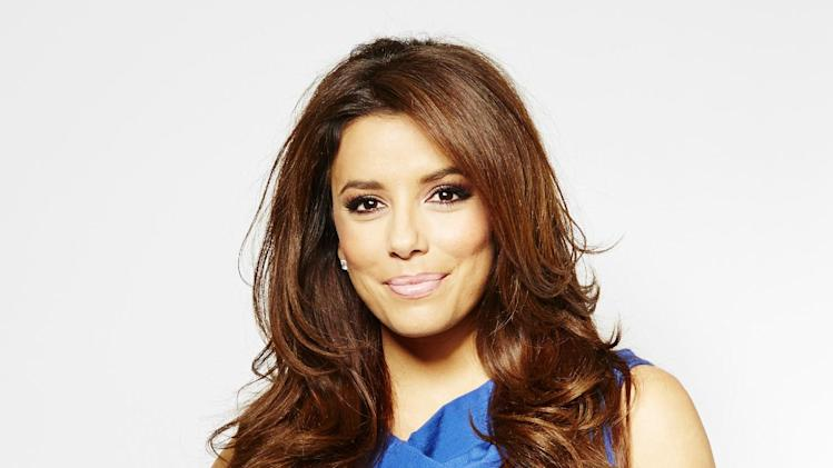 "In this Thursday, March 7, 2013 photo, chosen as the face of the new SHEBA global campaign ""Follow Your Passion,"" actress and executive producer Eva Longoria poses for a portrait, in New York. She's busy behind-the-camera too as an Executive Producer on two upcoming television shows. The first, a reality dating show called ""Ready for Love,"" premieres later this month on NBC. She is also Executive Producer of ""Devious Maids,"" alongside ""Desperate Housewives"" creator Mark Cherry.   (Photo by Dan Hallman/Invision/AP)"