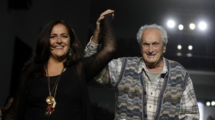 Patriarch of fashion brand Missoni dies in Italy