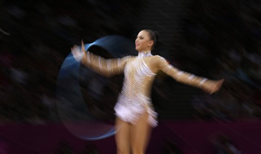 London Olympics Rhythmic Gymnastics