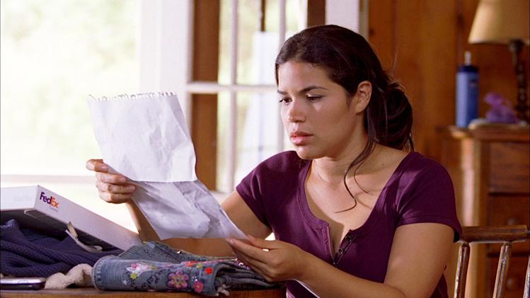 America Ferrera The Sisterhood of the Traveling Pants 2 Production Stills Warner Bros. 2008