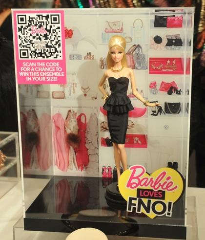"""Barbie Loves FNO"" Alexis Bittar doll"