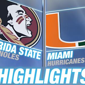Florida State vs Miami - April 25 | 2015 ACC Baseball Highlights