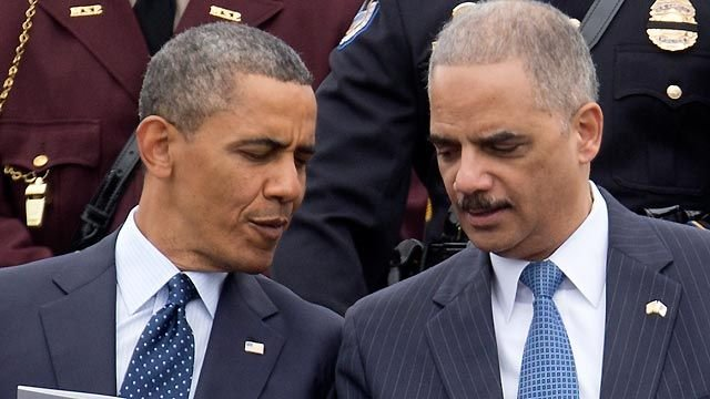 A look at the relationship between Obama, Eric Holder