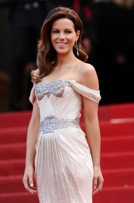 Kate Beckinsale attends the 'Wall Street: Money Never Sleeps' premiere at the Palais des Festivals during the 63rd Annual Cannes Film Festival in Cannes, France on May 14, 2010  -- Getty Images