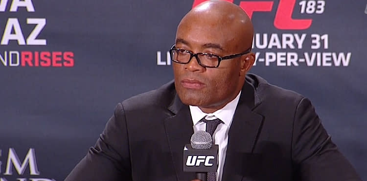 Anderson Silva Willing to Get Embarrassed in Taekwondo Olympic Bid