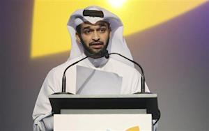 2022 FIFA World Cup Qatar Supreme Committee Secretary-General Hassan Al-Thawadi speaks during the opening of the International Sport Security Conference in Doha