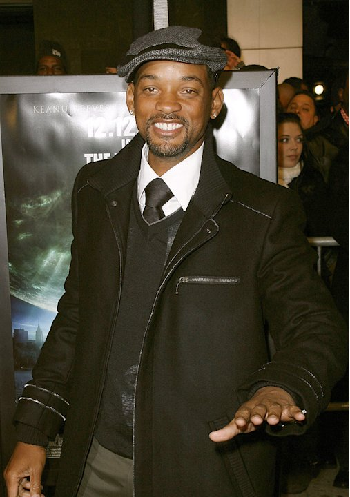 The Day the Earth Stood Still NY Premiere 2008 Will Smith