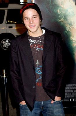 Shawn Pyfrom at the Hollywood premiere of Warner Bros. Pictures' Constantine