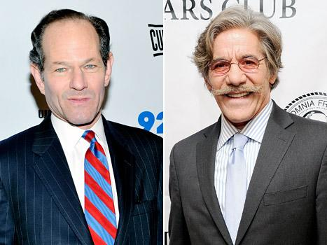"Geraldo Rivera Gets Advice From Eliot Spitzer on Near-Naked ""Selfie"": The Public Will Forgive You"