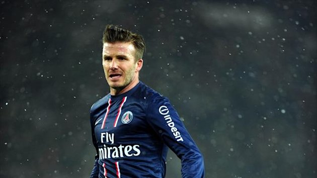 David Beckham made an instant impact on his debut for PSG