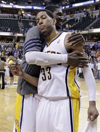 Pacers beat Magic 105-87, advance to 2nd round