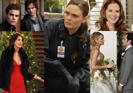 Ask Ausiello: Spoilers on Bones, Castle, Gossip Girl, Vampire Diaries, HIMYM, Grey's and More!