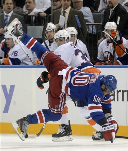 Tavares nets SO clincher for Isles over Rangers