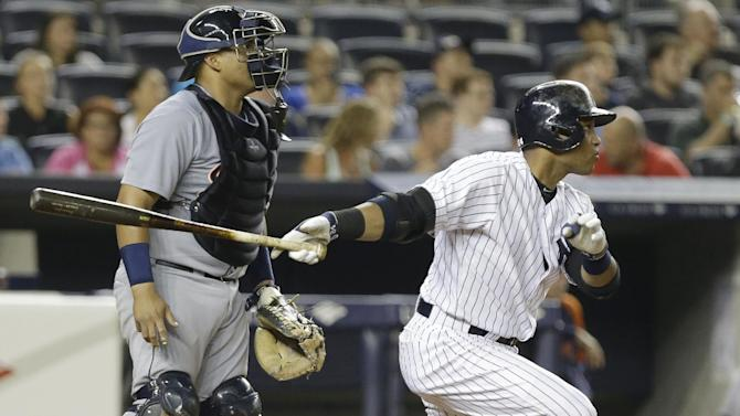 Yanks stop Tigers' 12-game win streak, A-Rod booed